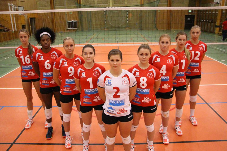 Svedala Volleybolklubb 2015-16 Elitserie team