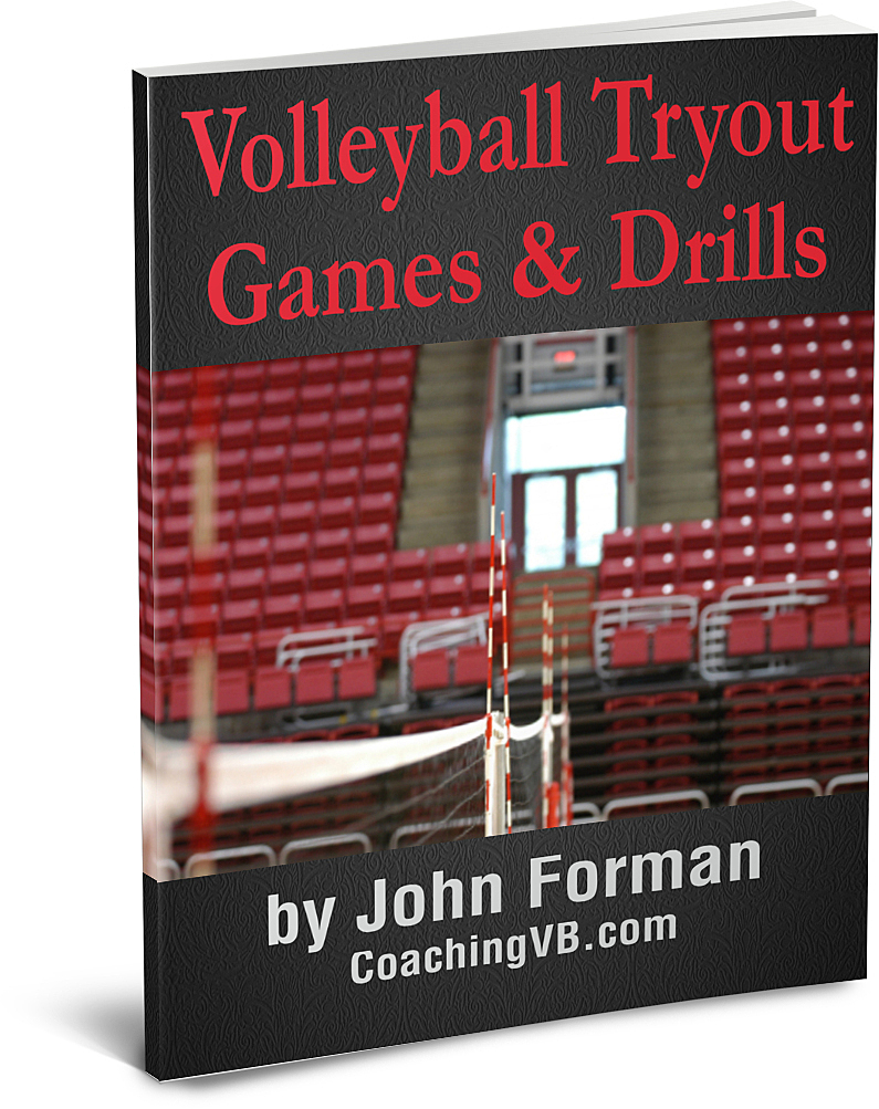 Volleyball Tryout Games Drills