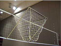 Precision Passer Net-Suspended Volleyball Target