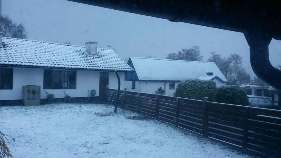 Snow in Svedala