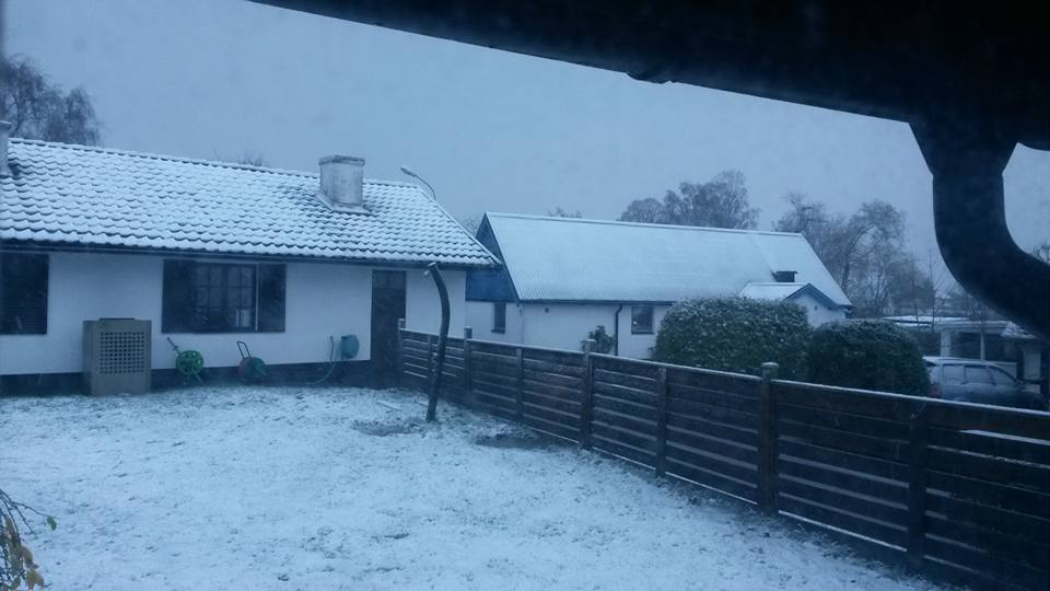 First Svedala Snow