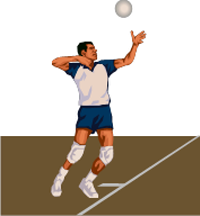 How to teach the overhand serve to volleyball beginners