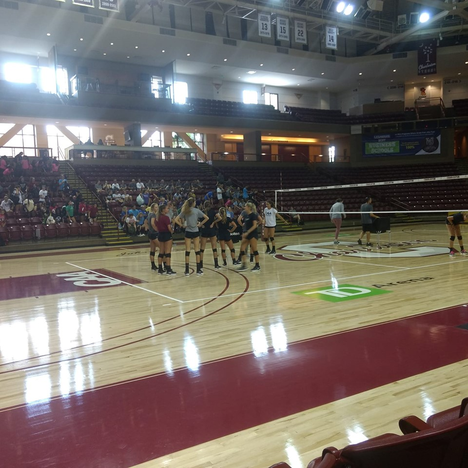 A volleyball team camp experience
