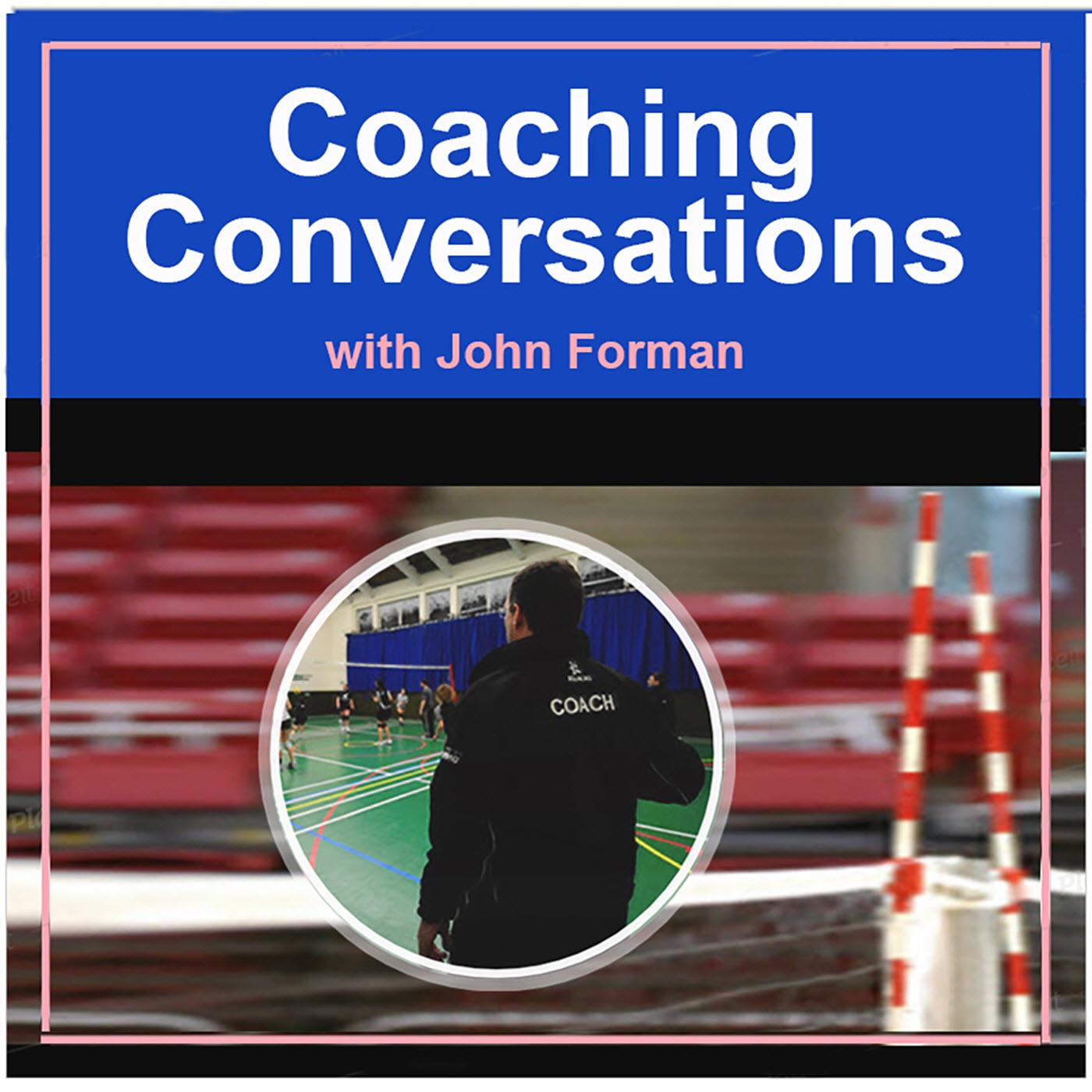 Coaching Conversations – Coaching Volleyball